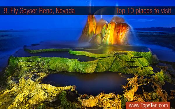 Fly Geyser Reno