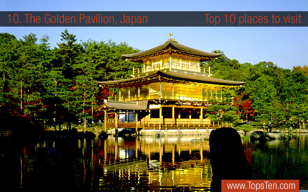 The Golden Pavilion, Japan