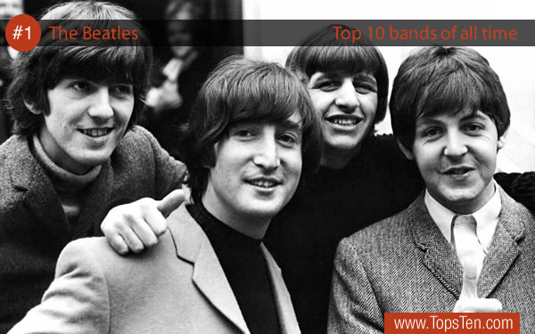 #1 The Beatles