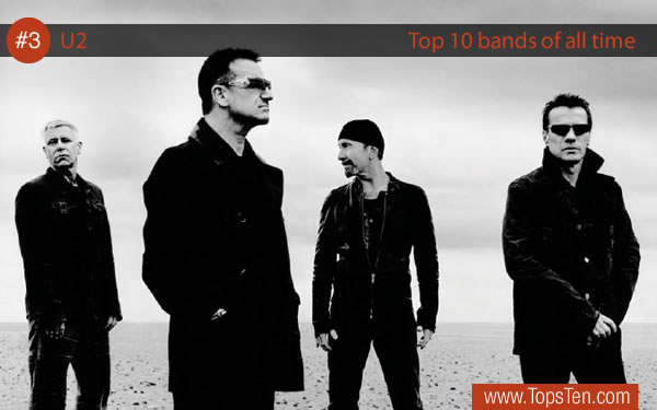 TOP 10 Bands: 3. U2