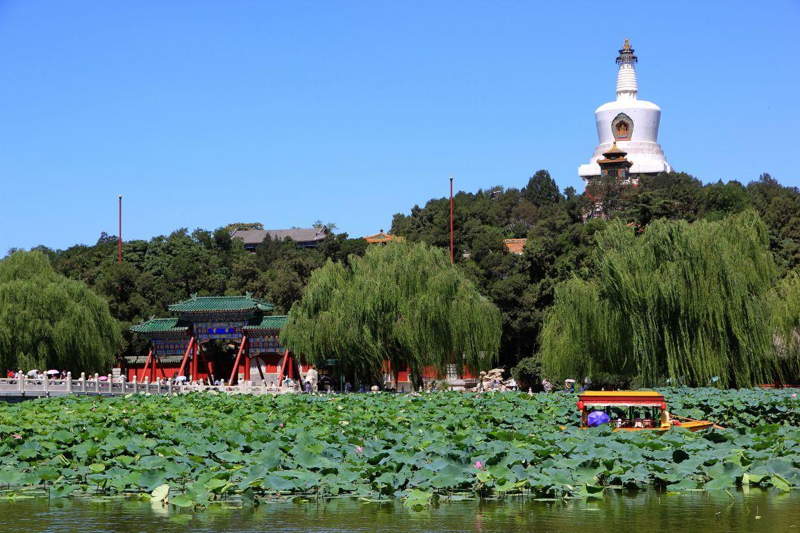 Resultado de imagem para parque beihai pequim